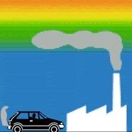 Anticyclone Hugo : gel et pollution sous l'inversion