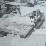 Orages de neige en novembre 1982 sur l'Est du Massif Central