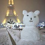 La neige à Paris : toute une histoire